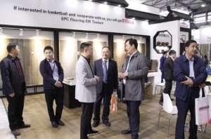 第21届中国国际地面材料展  肯帝亚客流量高位运行,签约不断农业机械